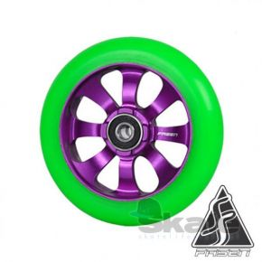 FASEN 8 SPOKES 110MM KOŁO PURPLE/GREEN