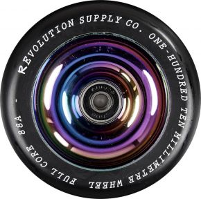 REVOLUTION SUPPLY FULL CORE KOŁO 110 CZARNE NEOCHROM